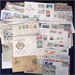 Postal covers, collection of approx. 185 Commonwealth covers & envelopes, 1890 onwards with some