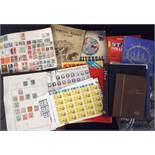 Stamps and covers, a large quantity of GB and Worldwide stamps and covers in various albums and