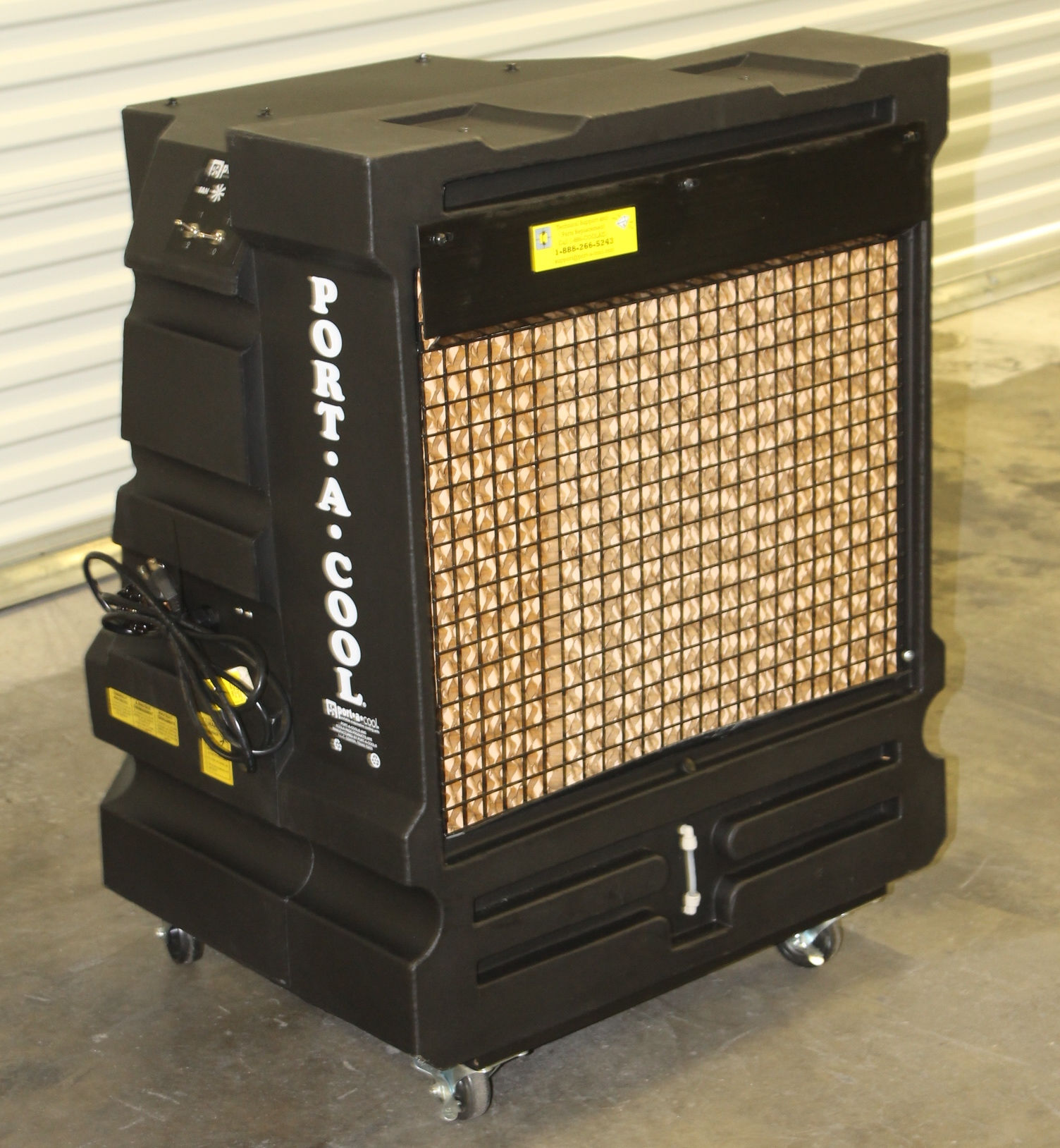 PORTABLE EVAPORATIVE COOLING UNIT MODEL: PAC2KCYC01 WITH 18 GALLON W #BBB210