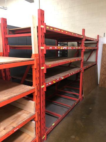 """Lot 1038 - Commercial Pallet Rack 36""""x 242""""x 82""""."""