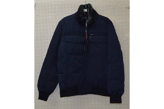 6484bee9f POLICE > Tommy Hilfiger New Ken Bomber 403 Midnight Jacket - large ...