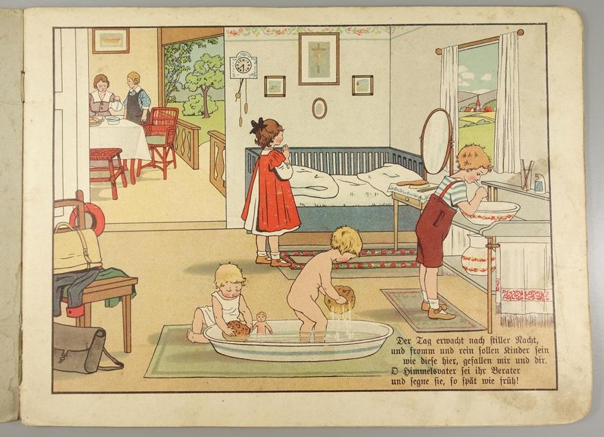 """""""Bunte Bilder aus Stadt und Land"""", seltenes Kinderbuch, Jugendstil um 1910/20, ohne Verlagsangabe, - Bild 2 aus 2"""