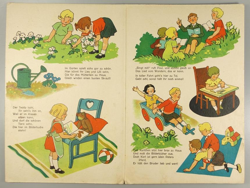 """""""Nicht so wild!"""" Kinderbuch, Nr.445 P, 1.Hälfte 20.Jh., ohne Verlagsangabe, ohne Jahreszahl; - Bild 2 aus 2"""