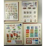 ca. 1410 Briefmarken DDR und BRD, davon ca. 1170 überwiegend Motivmarken DDR und ca.240 Marken
