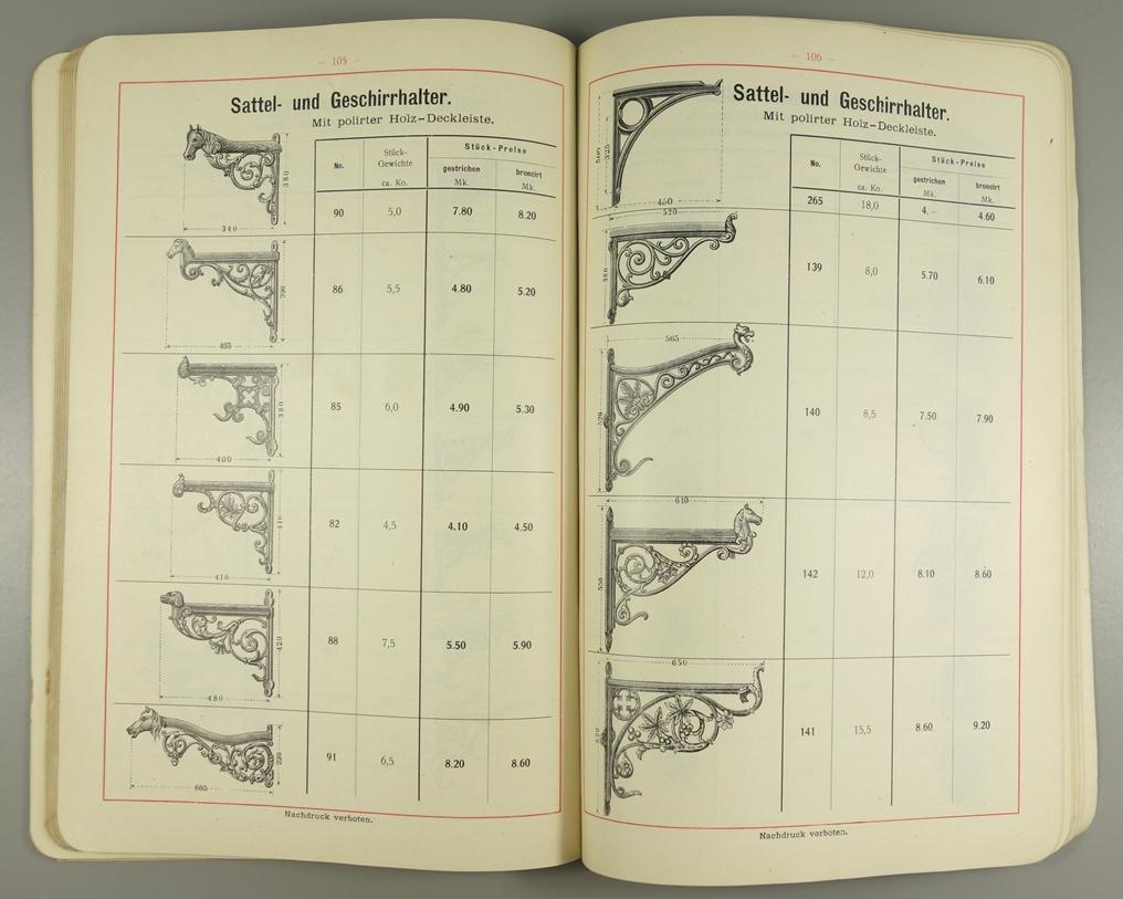 """2 Kataloge """"Eisenhütten- und Emaillirwerk Tangerhütte"""", Nr. 14 und Nr.22, um 1900, Franz - Bild 2 aus 3"""