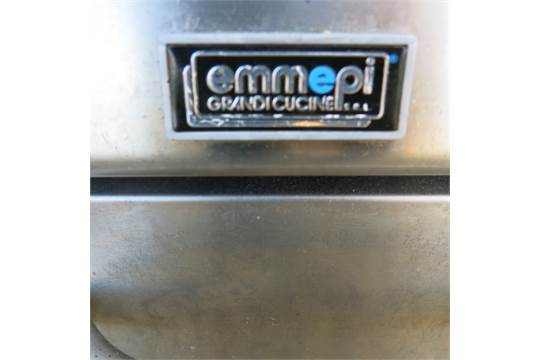 Emmepi grandi cucine floor standing gas hotplate griddle model