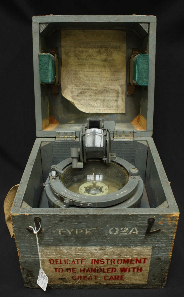 A Mid 20th Century Military Issue Type 02a Azimuth Circle