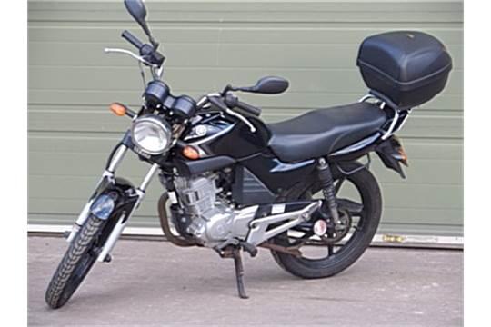 YAMAHA Chassis number LBPRE051000297392 - the Yamaha YBR 125