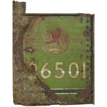 Lot 50 - Railway Locomotive and Rolling Stock, 26501 Flamecut Number Panel: A flamecut number panel from