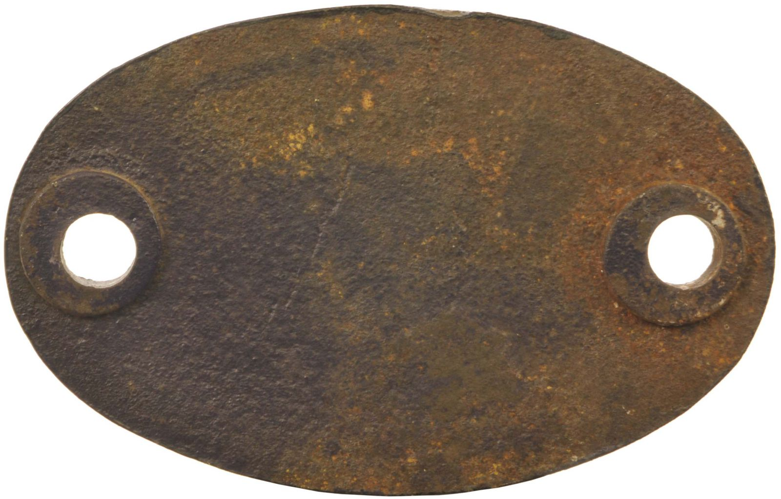 Lot 22 - Railway Locomotive Shedplates, 1A: A shedplate 1A Willesden (1935 to September 1965). This ex LNWR