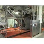 GMF Gouda steam peeler mod. no. Sepa-Strator SRS 500E ser. no. SRS 500-090 complete with rotary