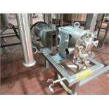 Waukesha positive displacement pump mod. no. 30 U1 ser. no. 1000002714754 stainless, 2 in x2 in, 1.