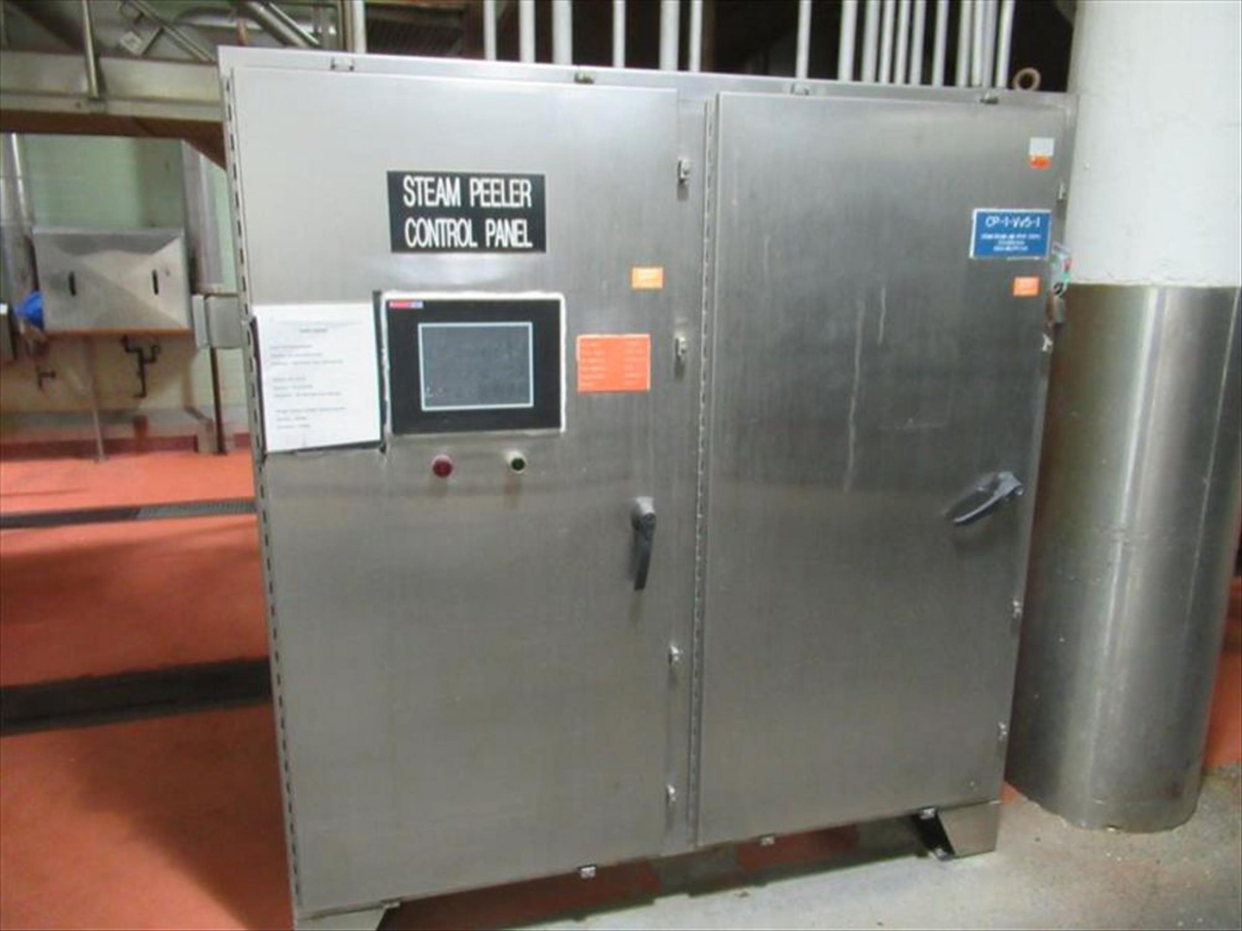 GMF Gouda steam peeler mod. no. Sepa-Strator SRS 500E ser. no. SRS 500-090 complete with rotary - Image 5 of 6