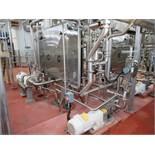 Waukesha positive displacement pump mod. no. 130 [3rd Flr Plate Sterilizer #2] (WINNER WILL BE