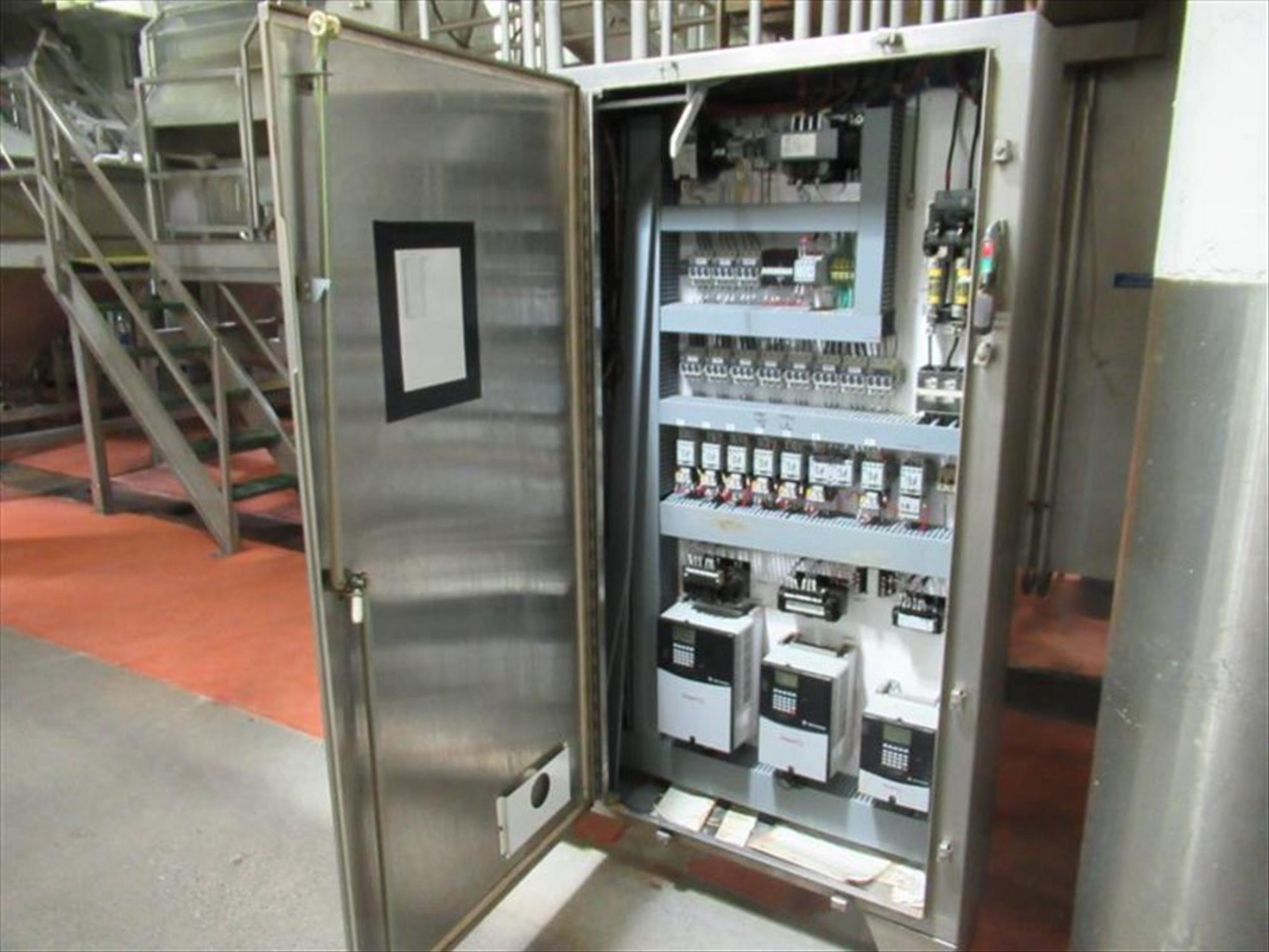 GMF Gouda steam peeler mod. no. Sepa-Strator SRS 500E ser. no. SRS 500-090 complete with rotary - Image 6 of 6