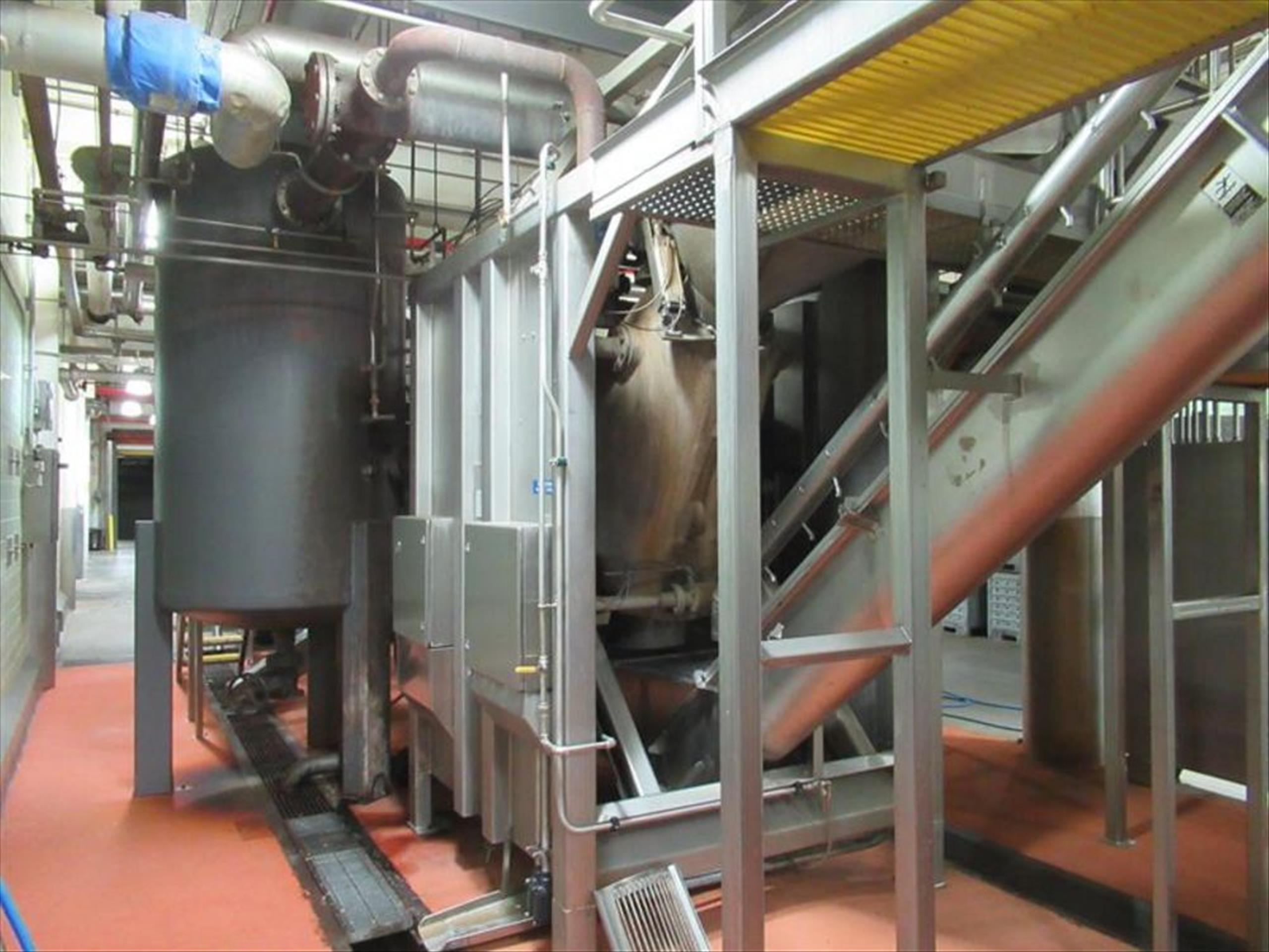 GMF Gouda steam peeler mod. no. Sepa-Strator SRS 500E ser. no. SRS 500-090 complete with rotary - Image 2 of 6