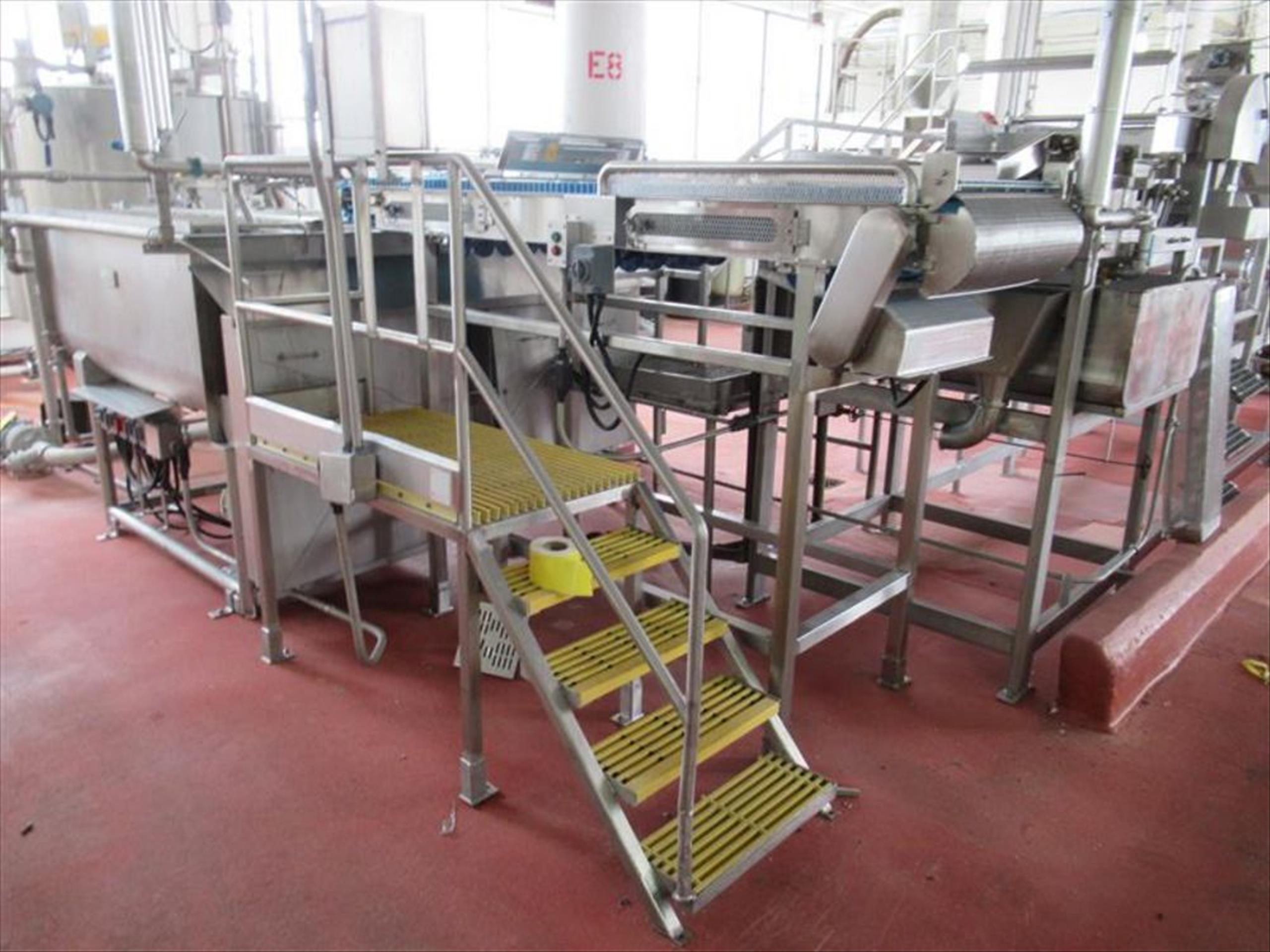 Rubber belt conveyor with magnet approx 30 in w x 120 in l inspection belt conveyor with PVC - Image 3 of 3