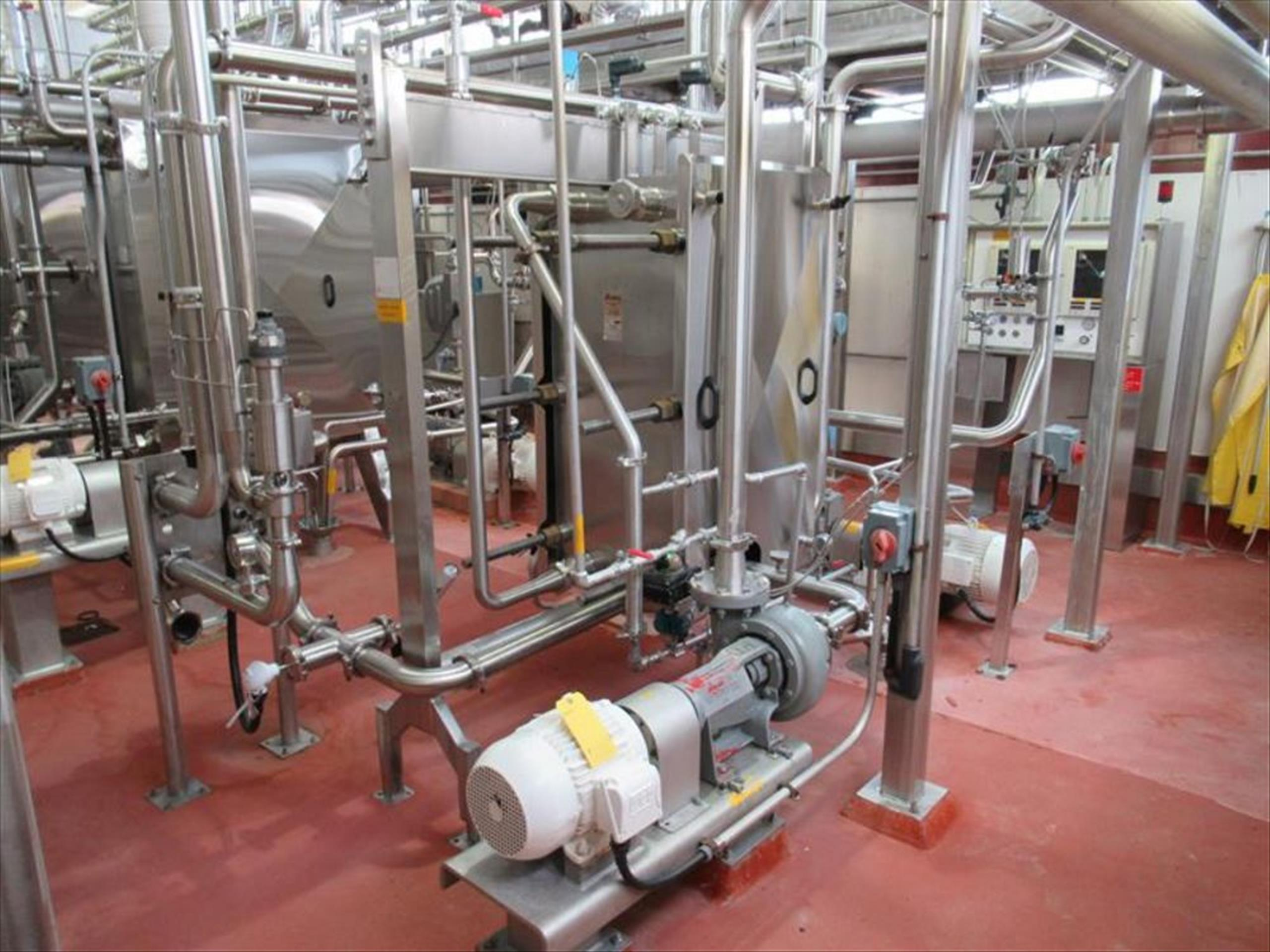 Vertiflo centrifugal pump mod. no. 1420 ser. no. 16-21447-4-1 7.5hp / 1755rpm horizontal end