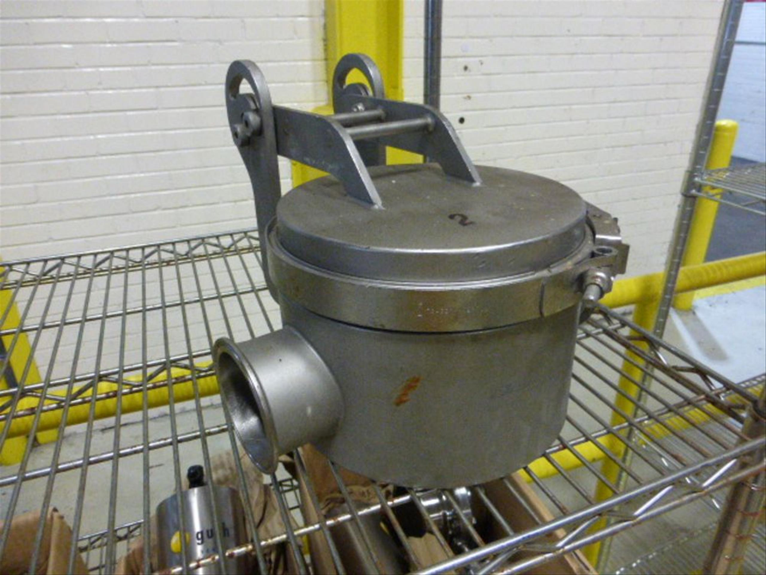 (2) Bunting stainless 3 in magnetic flow trap [1st Flr Warehouse] (Tagged as Lots 101 and 102) - Image 2 of 2
