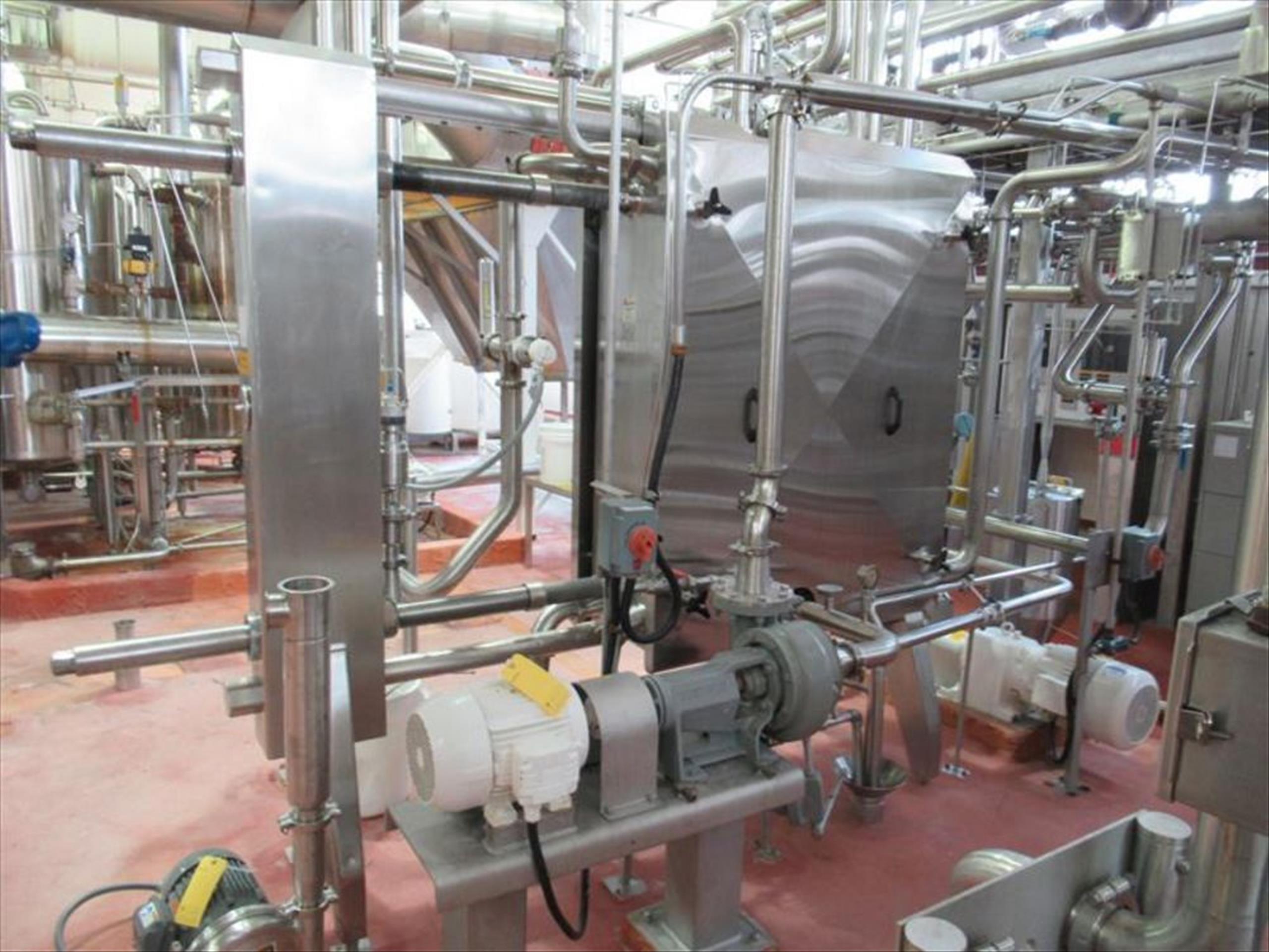 Vertiflo centrifugal pump mod. no. 1420 ser. no. 16-22254-4-1 7.5hp / 1755rpm horizontal end