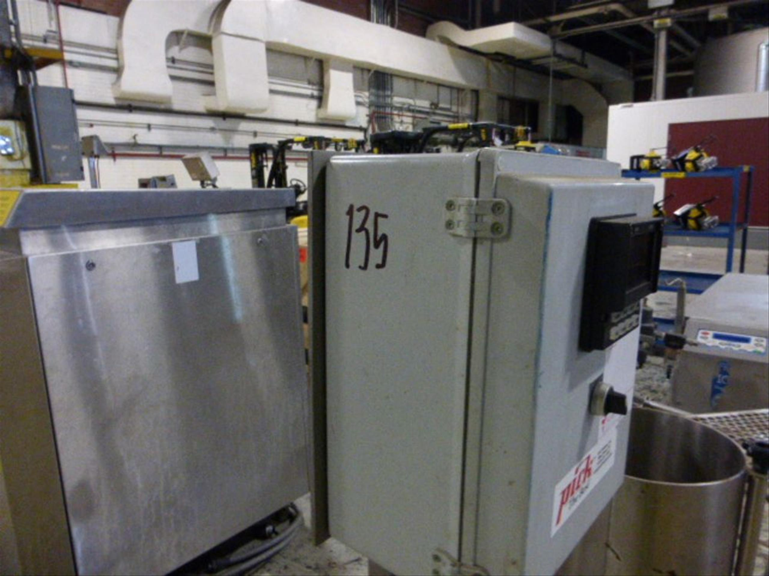 Pick Heating Process Unit with Moyno EB2A SSE3 #7427602 with 0.5 HP Stainless Steel Tank, 11.5 in