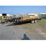 TRAILER, SUPERIOR 20', new 2012, tandem axle, TX Lic. No. 33009P, VIN 4P5F82027C117404 (delayed