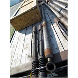 LOT OF WIRE TOOLS CONSISTING OF: (1) casing collar locator, S/N CS-CL-02; (1) Gamma Ray logging