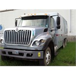 WIRELINE TRUCK, 2012 INTERNATIONAL MDL. WORKSTAR 7400 SERIES, Maxxforce 10 advanced diesel power,