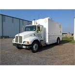 WIRELINE TRUCK, 1999 KENWORTH, Caterpillar 3126 diesel engine, 8-spd. trans., 5,000 lb. grease