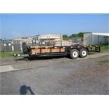 TRAILER, TOPH 28', new 2011, tandem axle, TX Lic. No. 4029224, VIN 4R7BU2023BT108014 (delayed