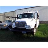 WIRELINE TRUCK, 2012 INTERNATIONAL 4300 SERIES, Maxxforce 10 advanced diesel power, Allison auto.
