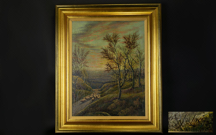 Lot 961 - Henry John Livens 1848 - 1943 Subject -