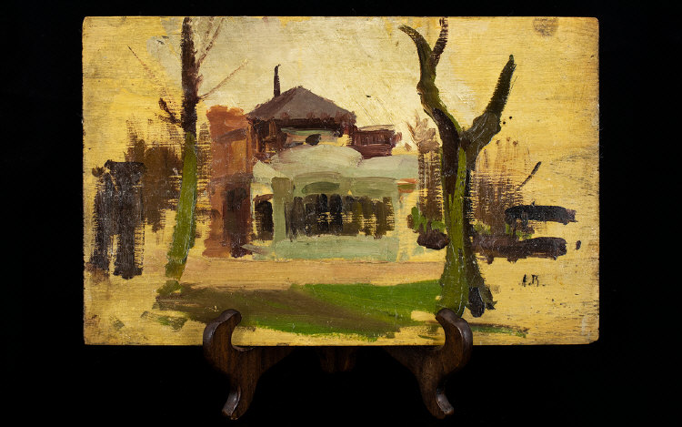 Lot 926 - Alexandre Bailly (1866 - 1947) Oil On Wo
