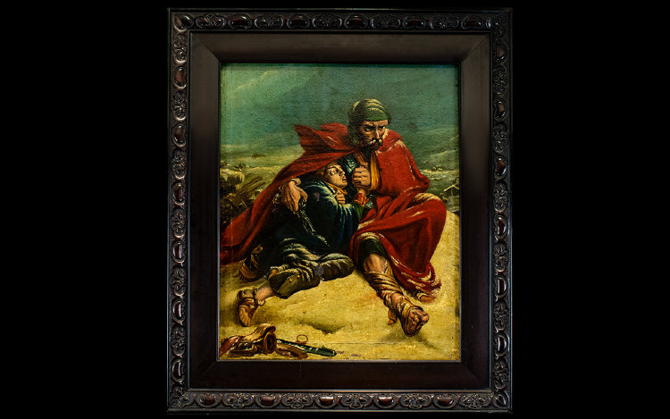 Lot 958 - Original Oil On Canvas Signed S. Meilin