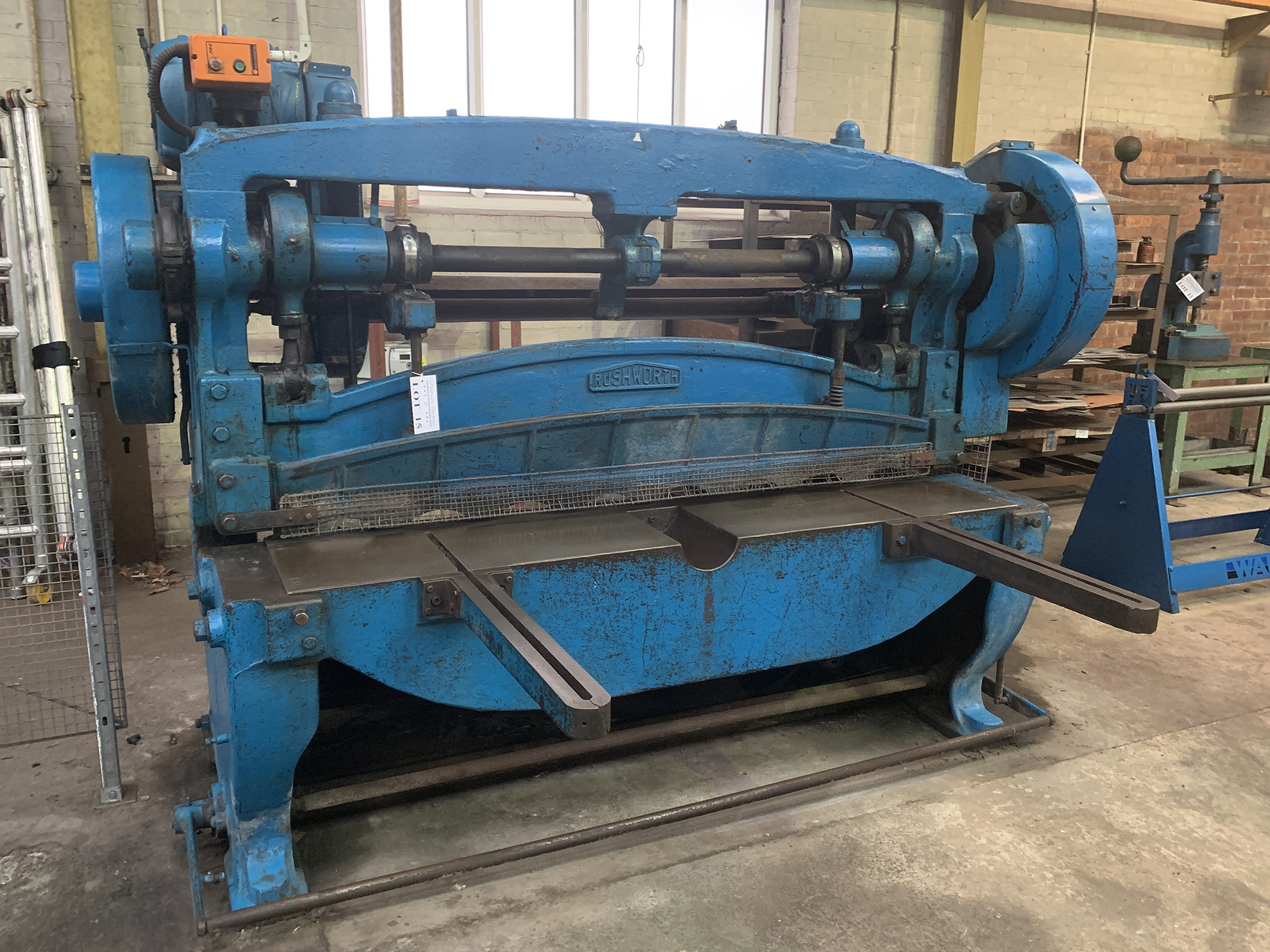 """Rushworth Power Guillotine. 68"""" Cutting Length. - Image 3 of 4"""