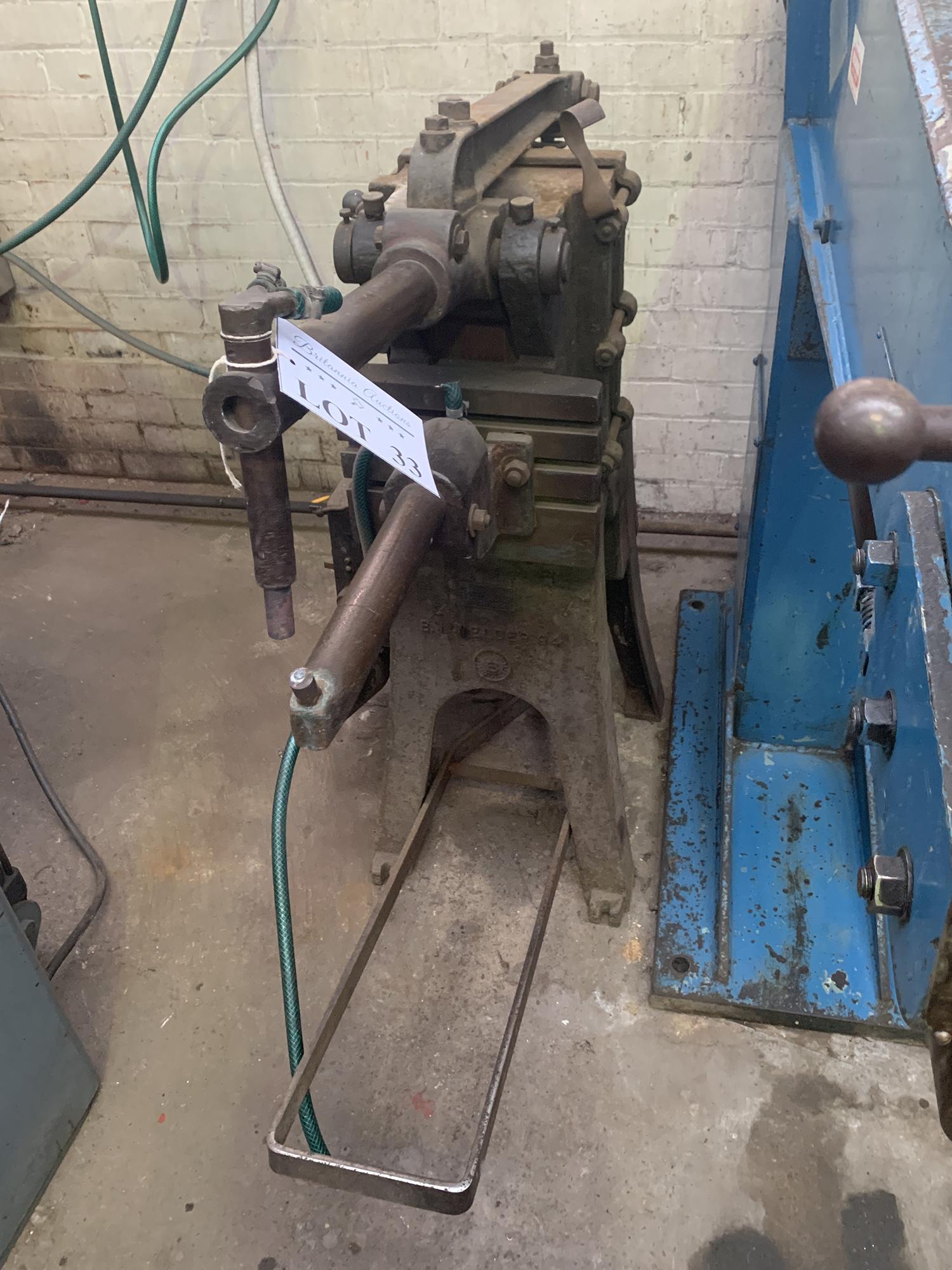 Pedestal Spot Welding Machine.