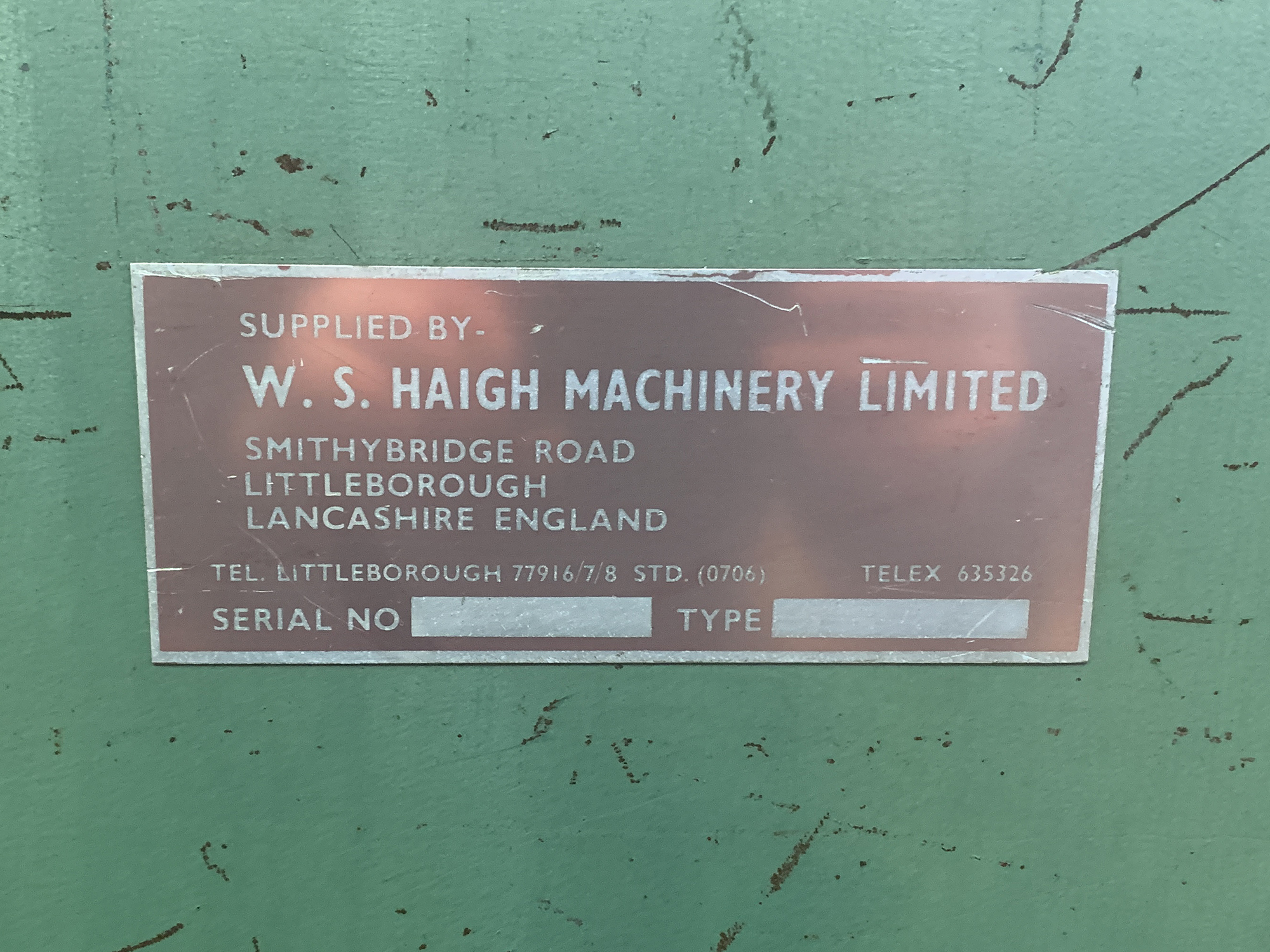 W.S Haigh Twin Station Flanging Machine. - Image 4 of 4