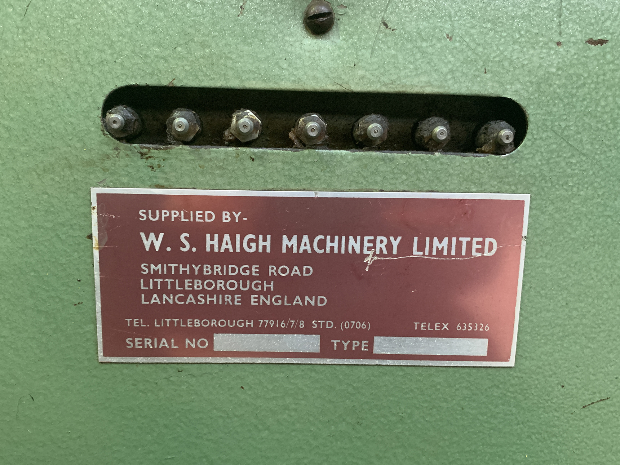 W.S Haigh Sheet Metal Lock Former. - Image 3 of 3