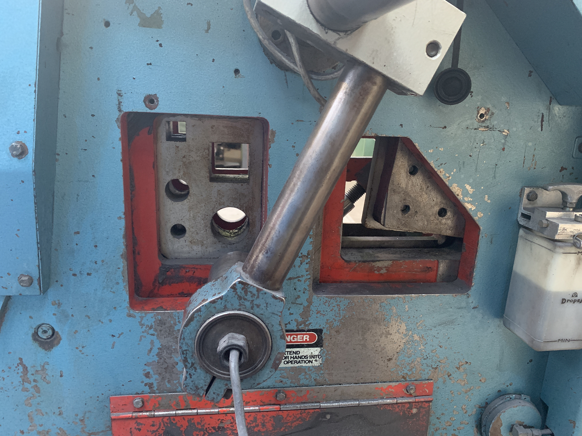 Kingsland 55XS Iron Worker. 55 Ton Capacity. - Image 7 of 8