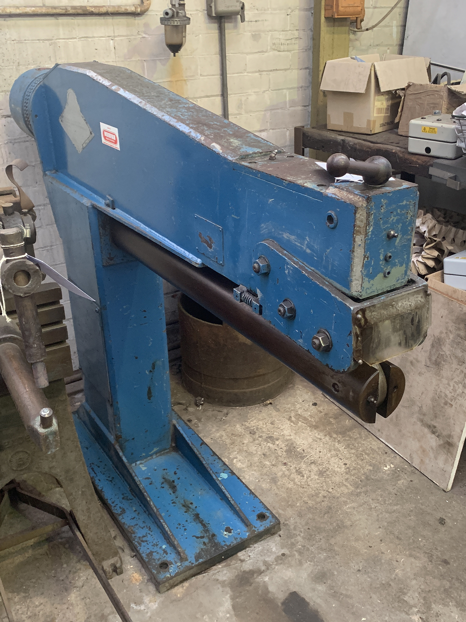FJ Edwards Seam Closing Machine. Capacity 36''. - Image 3 of 5