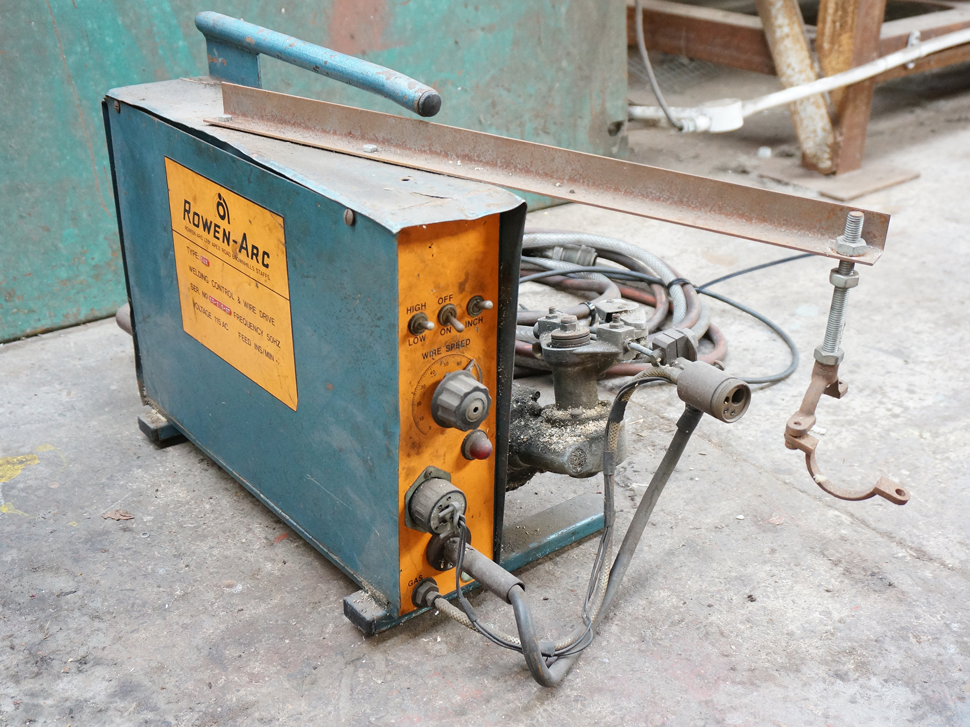Rowen-Arc Type SAX Welding Control and Wire Drive.