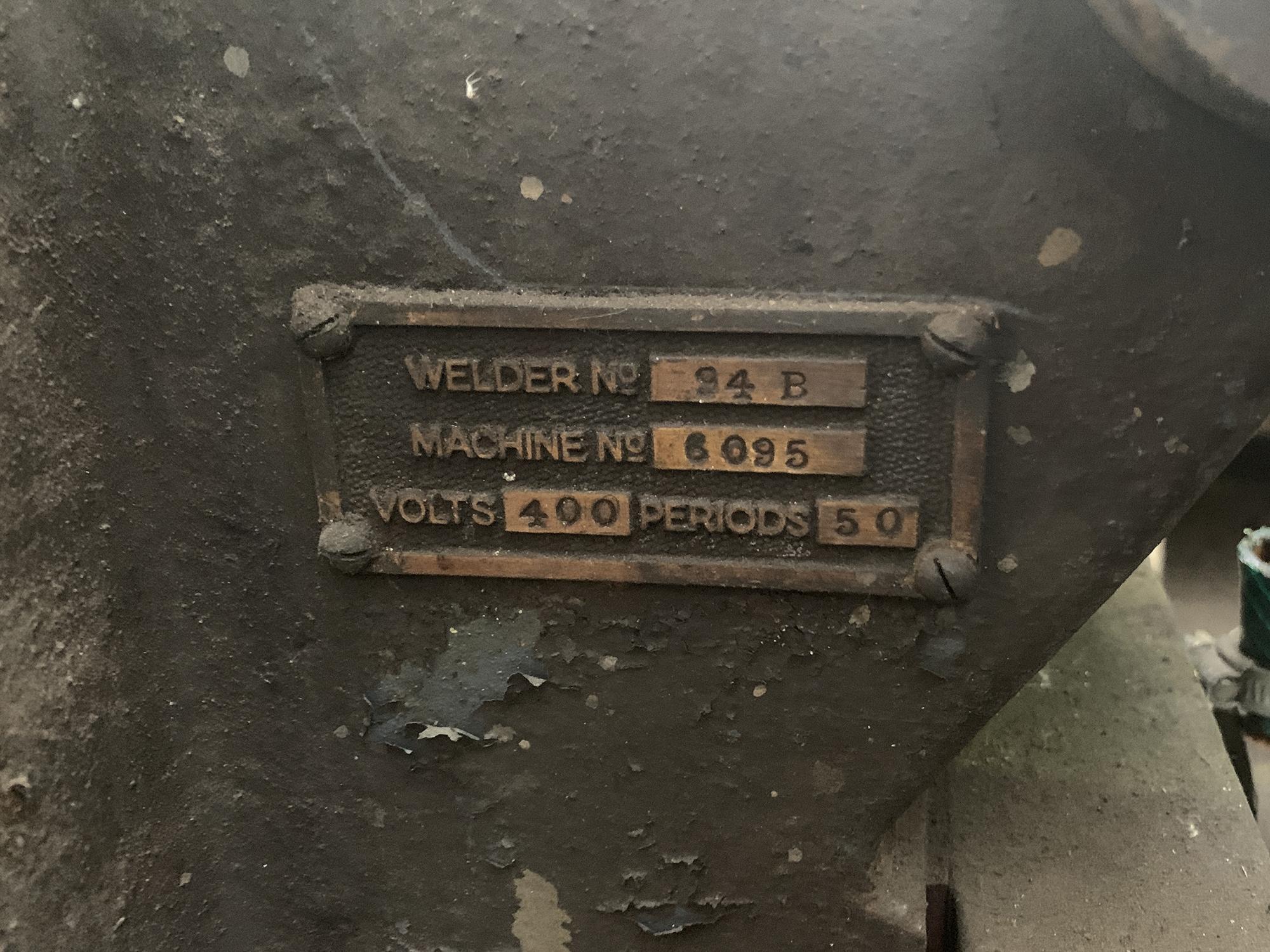 Pedestal Spot Welding Machine. - Image 3 of 3