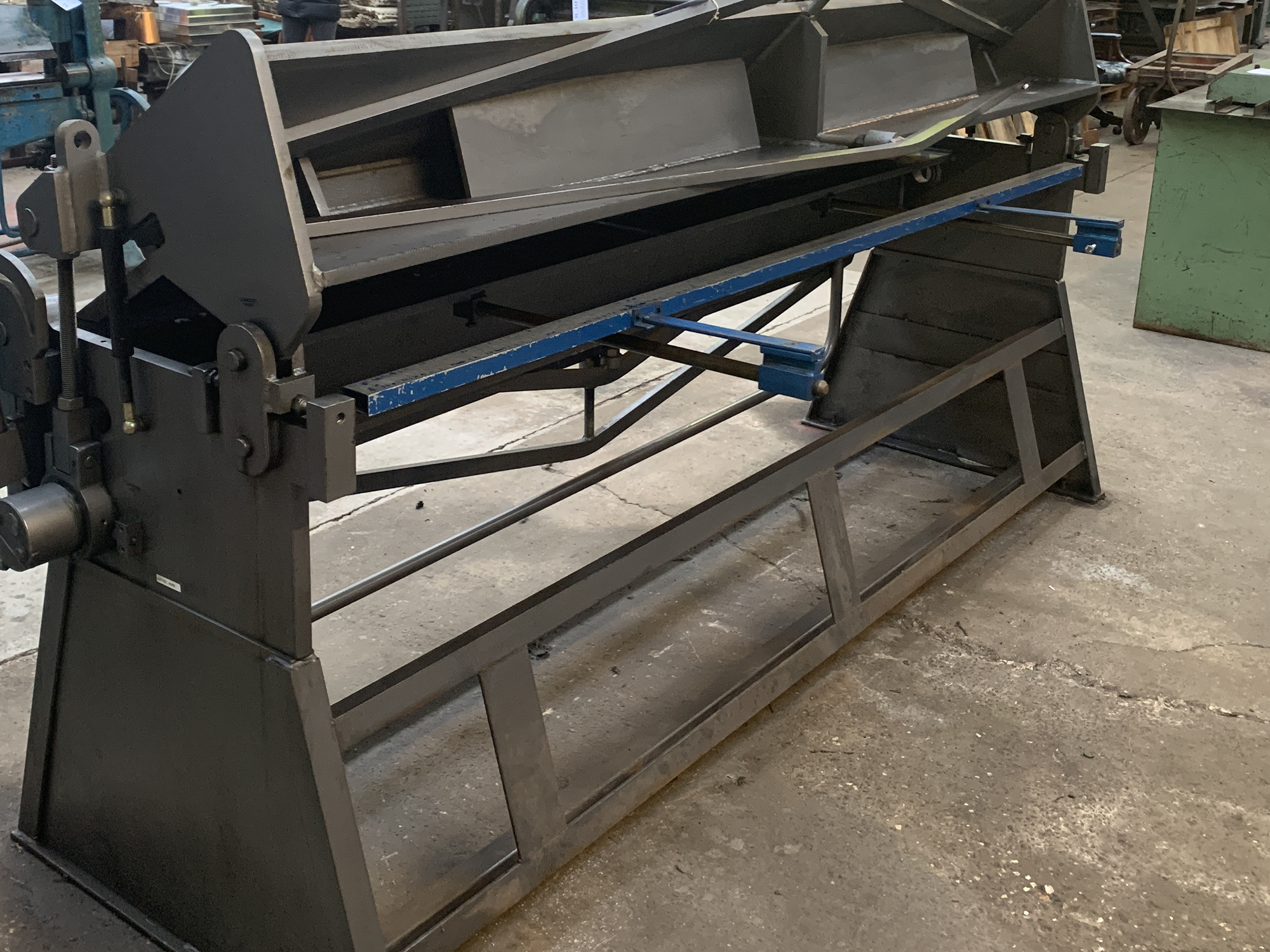 "Waltons Model BPFM 100"" x 14swg Box & Pan Folding Machine. - Image 5 of 6"