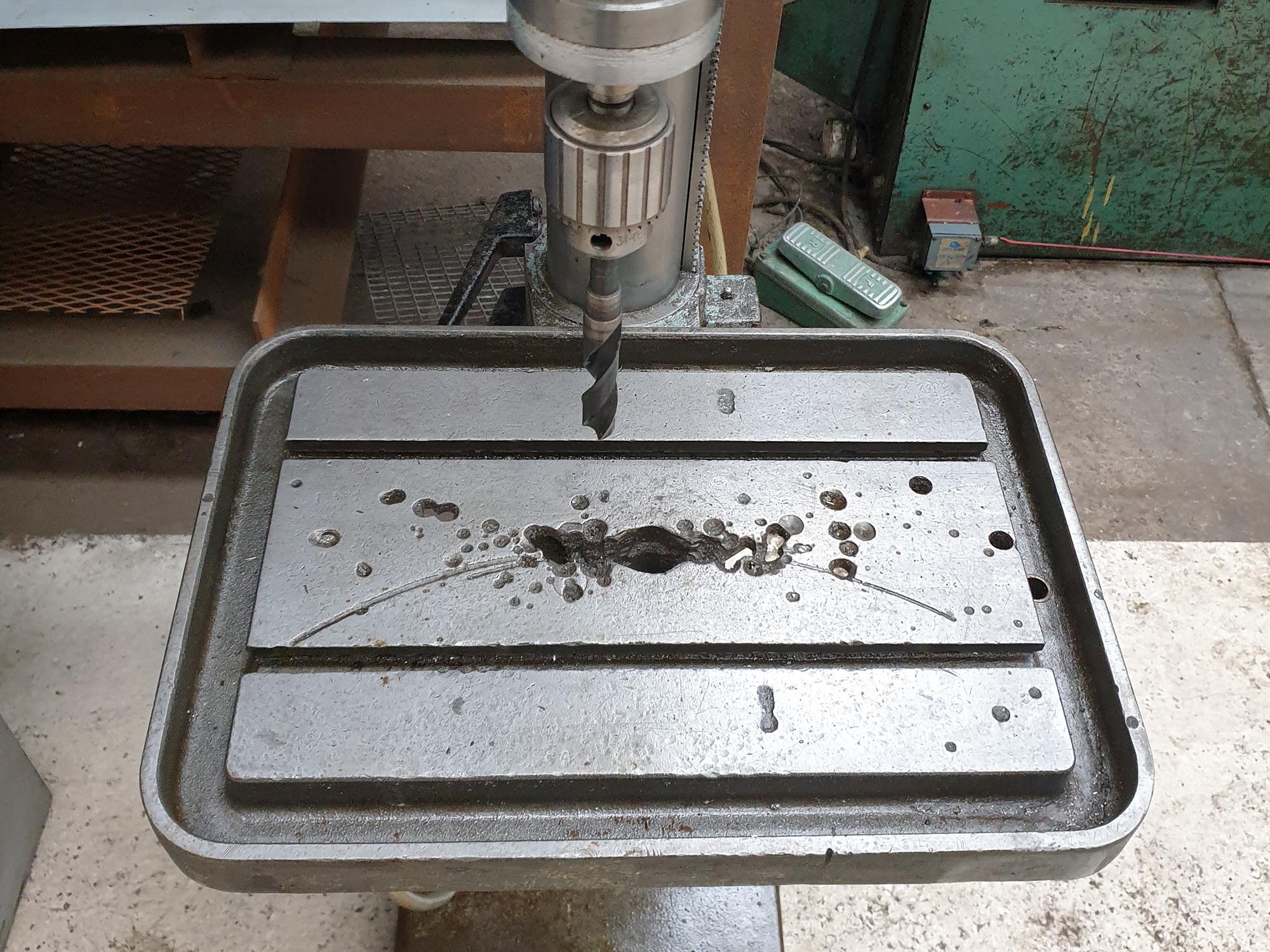 Meddings S68 Gear Head Drill. - Image 4 of 6