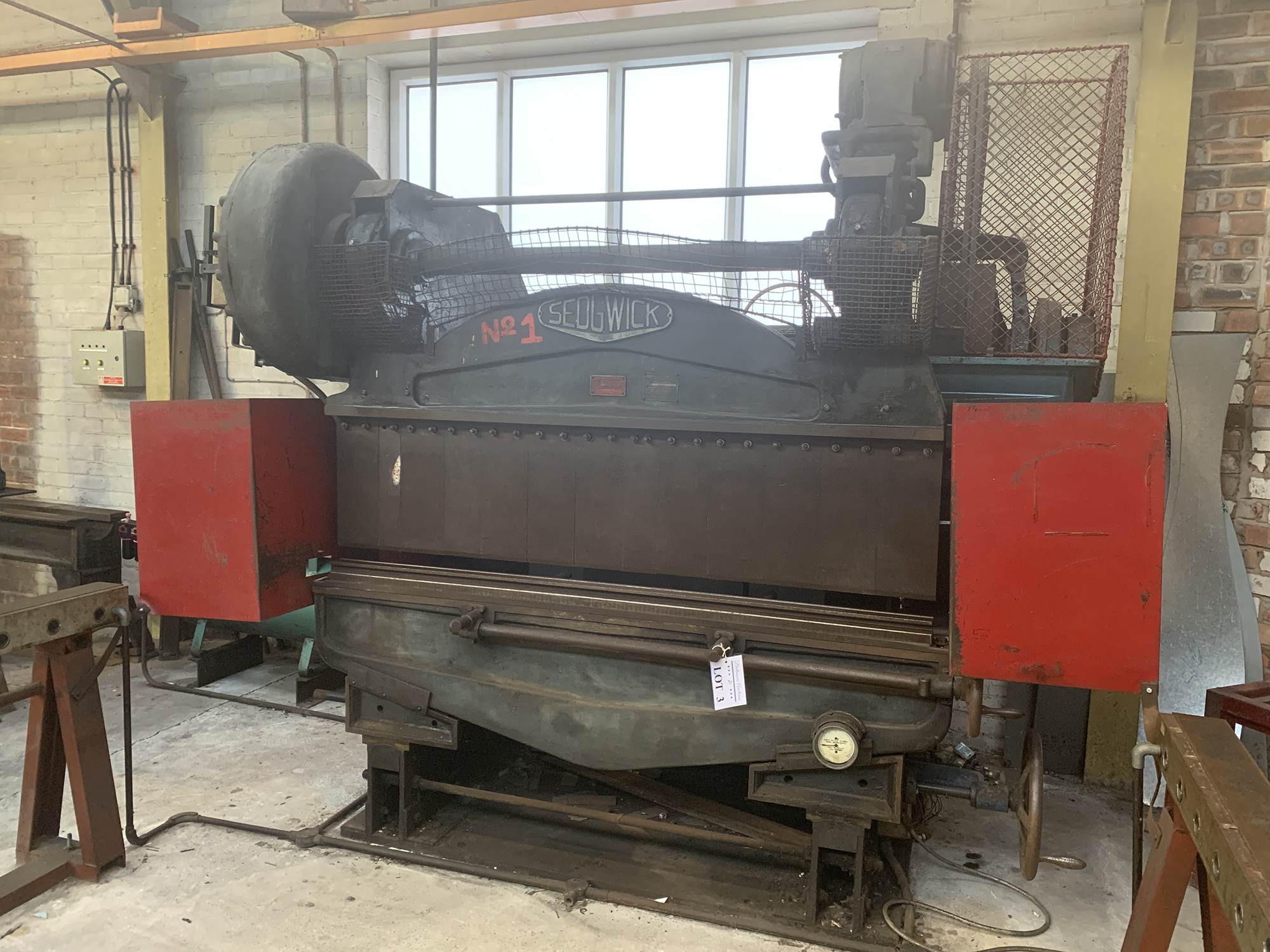 Sedwick Press Brake. 72'' Blade Length. - Image 2 of 6