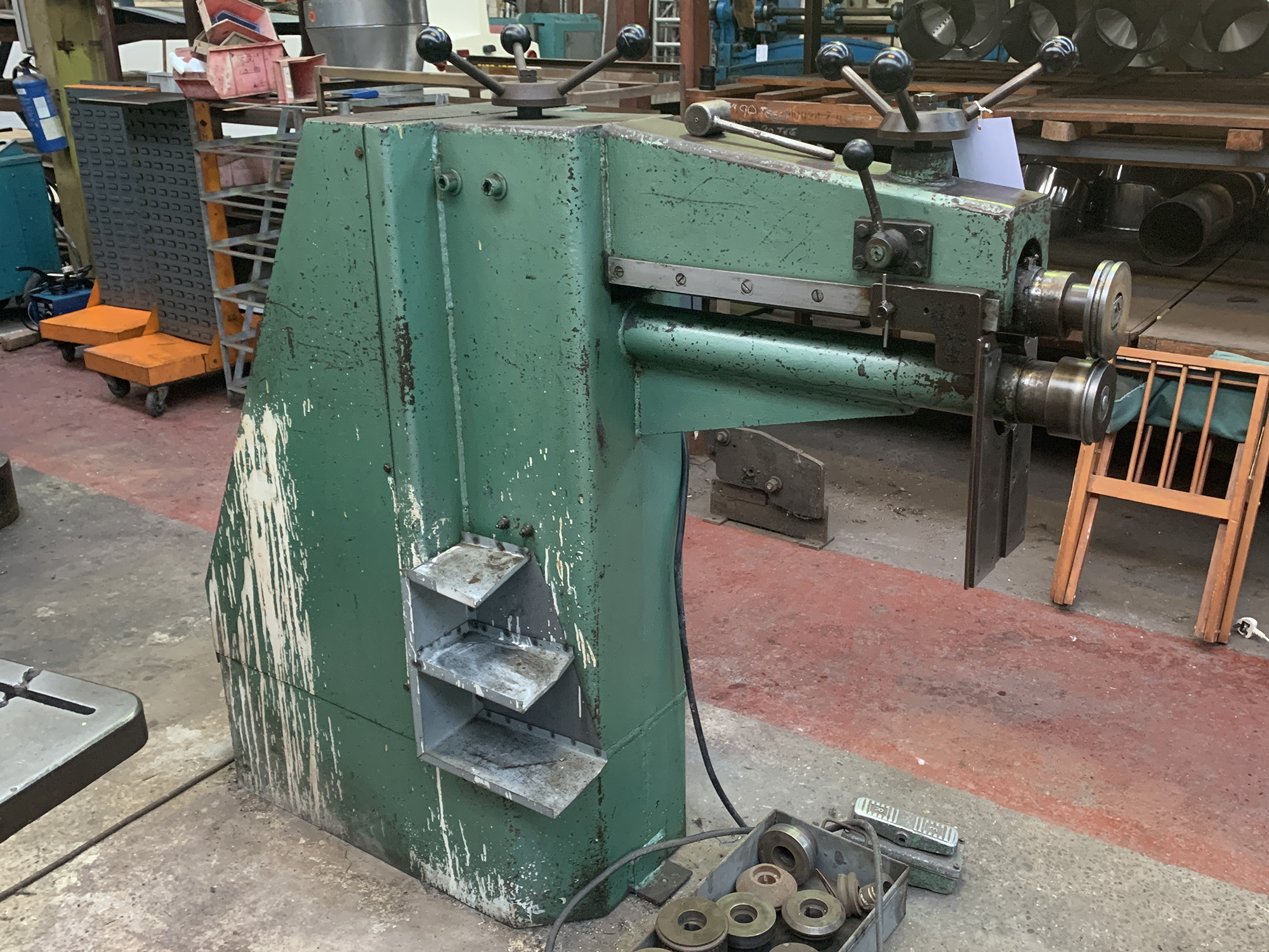 Powered Swaging Machine. Capacity 24''. - Image 2 of 4