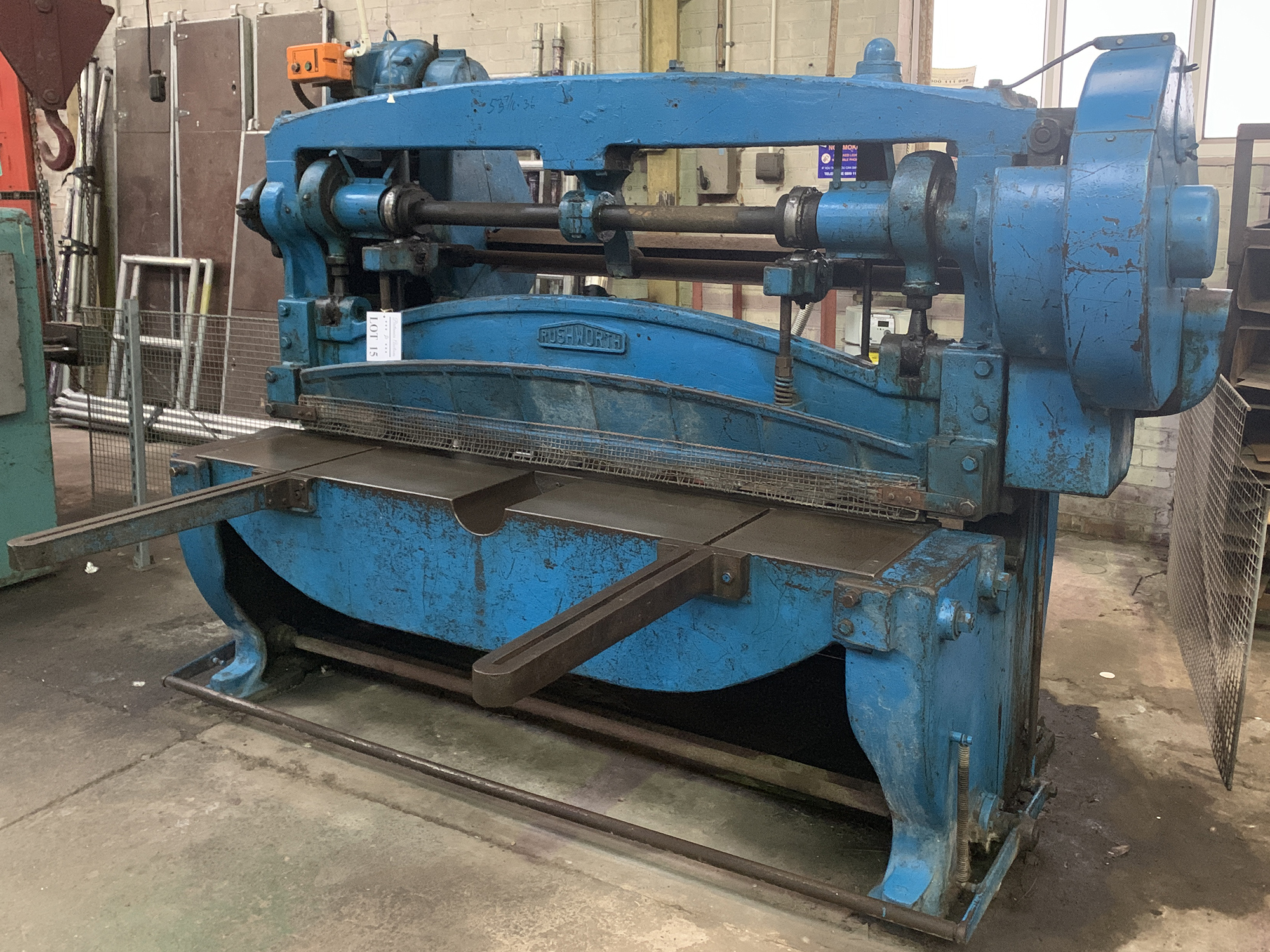 """Rushworth Power Guillotine. 68"""" Cutting Length. - Image 2 of 4"""