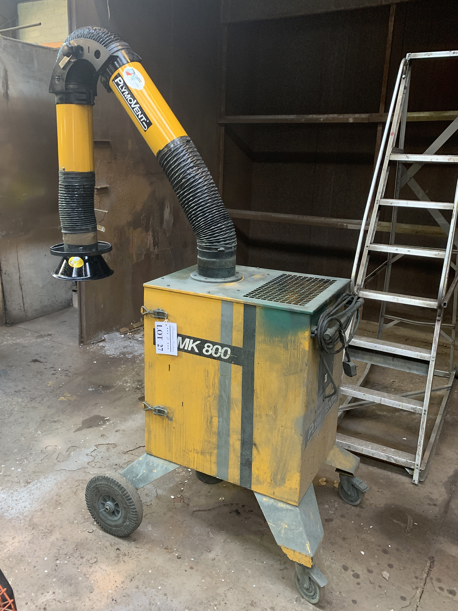 Plymovent MK800 Mobile Fume Extractor. 240 Volt. - Image 2 of 2