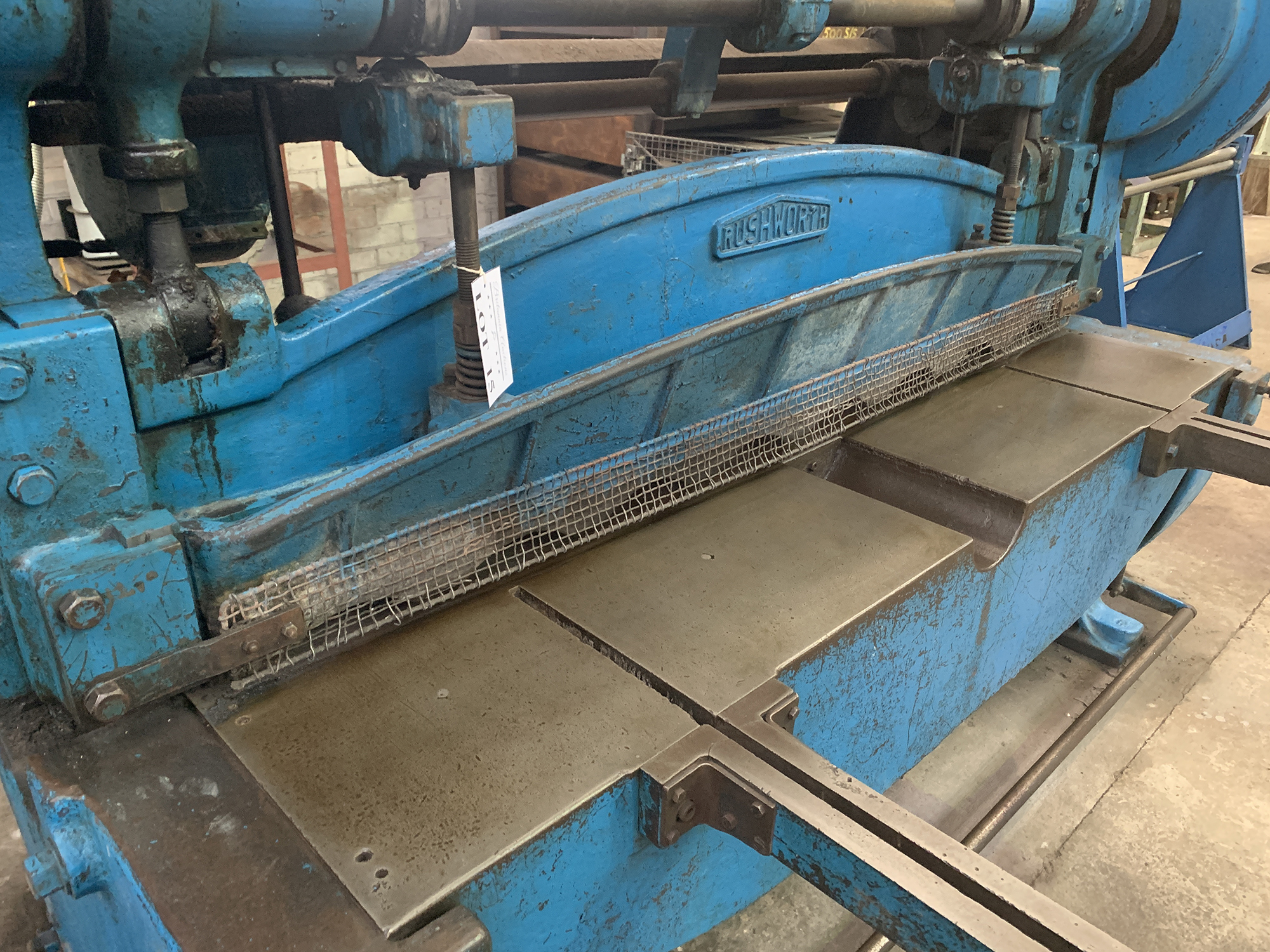 """Rushworth Power Guillotine. 68"""" Cutting Length. - Image 4 of 4"""