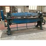High Lift Manual Folding Machine. 48'' Capacity.